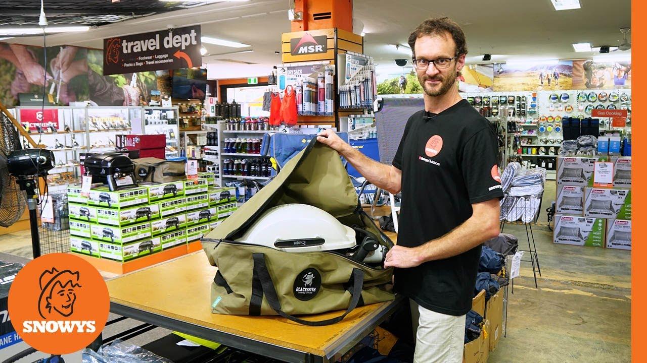 Australian Made Weber Baby Q BBQ Bag