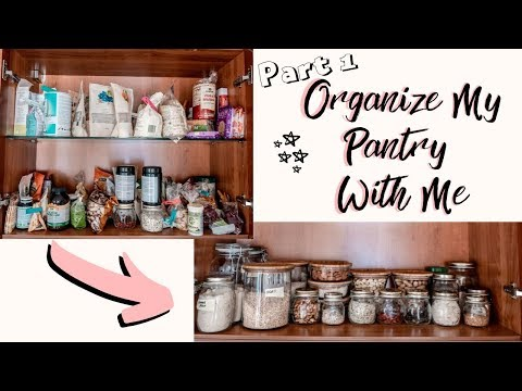 Organize My Pantry with Me (PART 1) | ATTEMPTING PINTEREST GOALS
