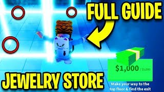 HOW TO ROB The New JEWELRY STORE *EASILY!* (FULL GUIDE) | Roblox Jailbreak New Update