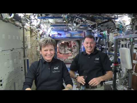 Space Station Crew Discusses Life in Space with Fox News