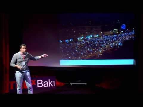 City for alive and dead - TEDxBaki. In Russian