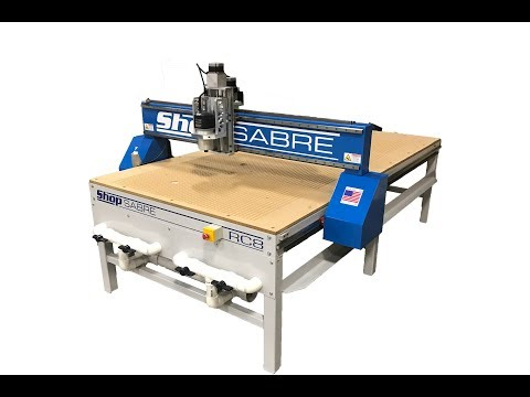 ShopSabre CNC – RC Series Walk Around with Routerbobvideo thumb