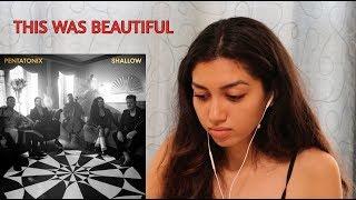 [OFFICIAL VIDEO] Shallow - Pentatonix | REACTION