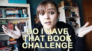 Do I Have That Book?? Challenge