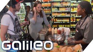 Burger im Supermarkt: So kauft man in Südafrika und China ein   Galileo   ProSieben