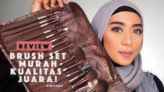Tutorial Dan Review Brush Set Pupa | Lokal Harga Murah Kualitas Oke Punya!