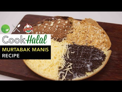 Cook Halal With Terang Bulan SG - How To Make Murtabak Manis [Video]