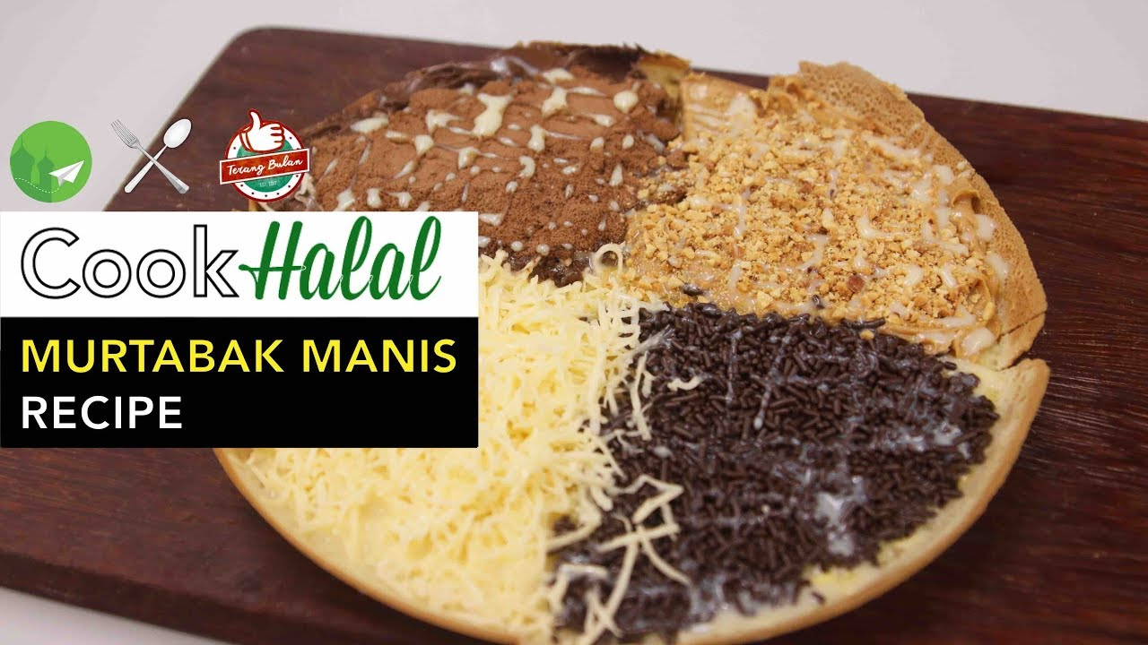 Halal food recipes tips and suggestions for muslim travellers cook halal with terang bulan sg how to make murtabak manis video forumfinder Images
