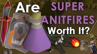 Why You SHOULD Be Using Super Anti-Fire Potions! [Old School Comparison]