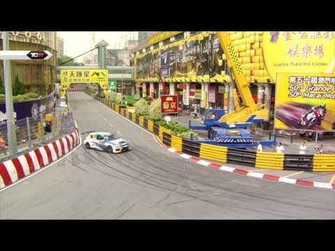 2016 Macau, TCR Free Practice 2 Clip