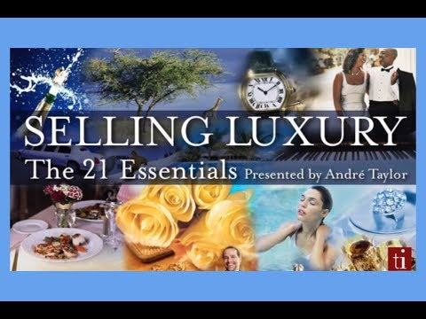 , title : 'Luxury Selling: The 21 Essentials - Andre Taylor