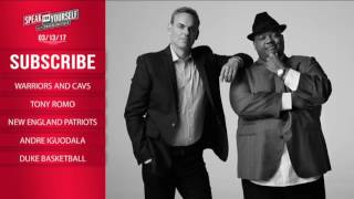 SPEAK FOR YOURSELF Audio Podcast (3.13.17) with Colin Cowherd, Jason Whitlock | SPEAK FOR YOURSELF