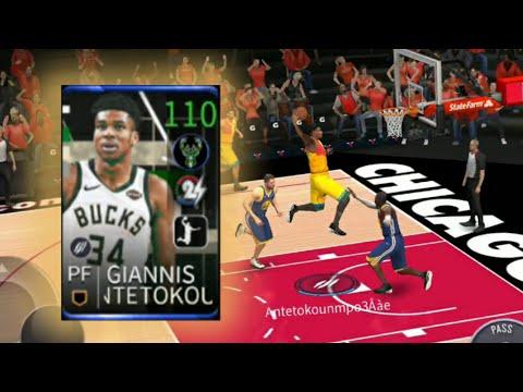 NBA LIVE - 試用搭檔大師 110字母哥!籃下他統治了😜