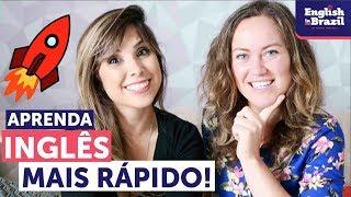 COMO APRENDER INGLÊS MAIS RÁPIDO | ft. Go Natural English