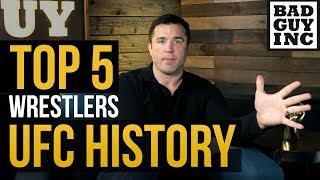 Top 5 Wrestlers in UFC History...
