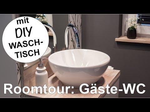 Roomtour #1: Unser Gäste-WC