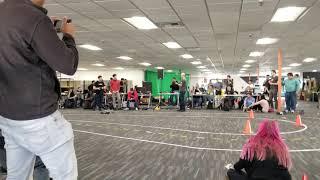 19Jan19 - DIYRoboCar in Oakland CA - 1st vs. 2nd place - Eric Silberman 2nd place