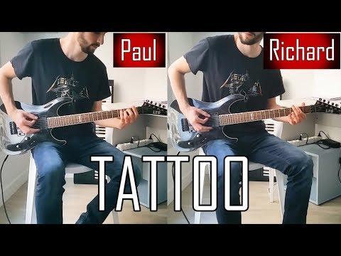 RAMMSTEIN - TATTOO Full Guitar Cover [HD]