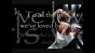 Julio Iglesias - To all the girls I loved before [feat. Willie Nelson]