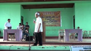 Debate: Ustadz Ahmad Barcelon (Islam) Vs. Evang. Ronnie Lucero (SDA) Part 5.