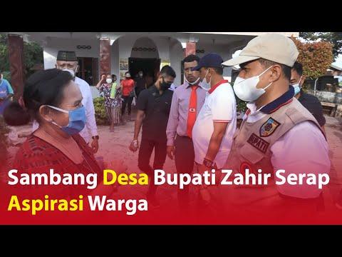 Sambang Desa Bupati Zahir Serap Aspirasi Warga