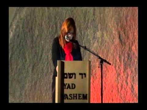 Dorit Novak, Director, The International School for Holocaust Studies, Yad Vashem [5:50 min]