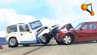 BeamNG.Drive - Crash Compilation #18