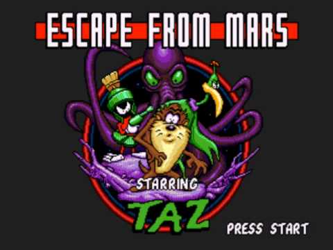 Escape from Mars, Starring Taz - Planet X 3