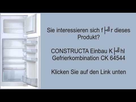 CONSTRUCTA Einbau Kühl  Gefrierkombination CK 64544