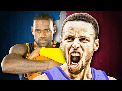 Stephen Curry vs LeBron James. Epic Rap Battles of NBA History.