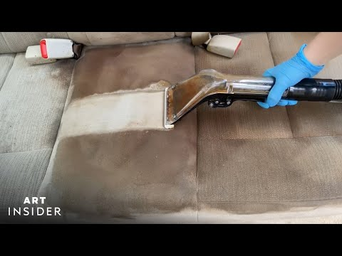 How Disgusting Car Interiors are Transformed