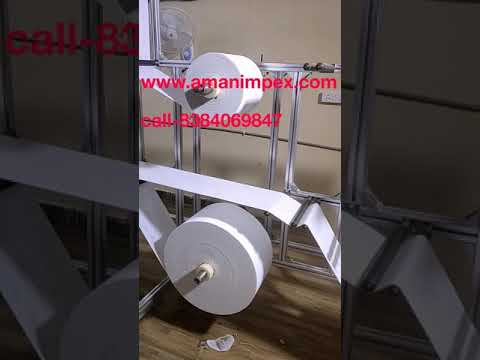 Surgical shoe covers making Machine