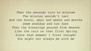 Alan Jackson - When I Saw You Leaving (For Nisey) (Lyrics)