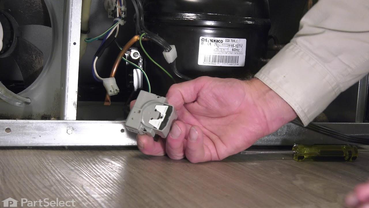 Replacing your Whirlpool Refrigerator Refrigerator Compressor Start Relay