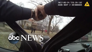 Body camera video shows encounter between police and 5 black teens in Michigan