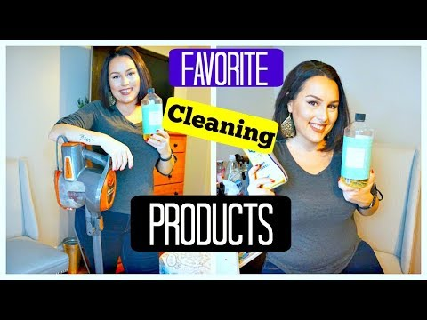 FAVORITE CLEANING PRODUCTS 2017 / CLEANING PRODUCTS REVIEW / DANIELA DIARIES