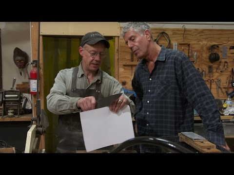 Raw Craft with Anthony Bourdain – Episode Four: Bob Kramer
