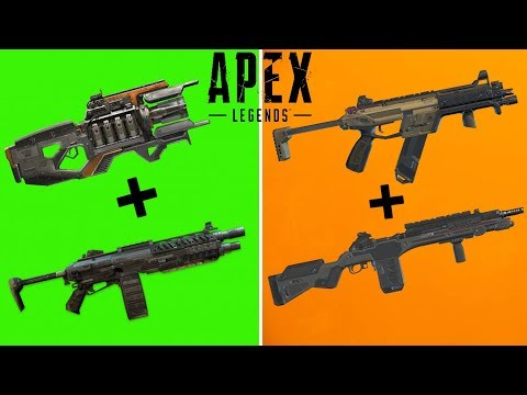 THE 5 BEST WEAPON COMBOS IN APEX LEGENDS!(SEASON 3)