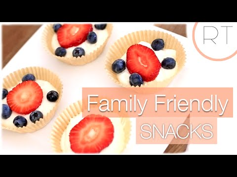 Video Easy Snacks For Kids & Adults Too