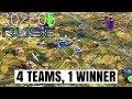 R U S E Multiplayer: 4 Teams 1 Winner S02e05