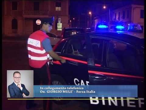 COLLEGAMENTO TELEFONICO CON L'ON. MULE' SULL'INVIO DI CARABINIERI NELL'IMPERIESE