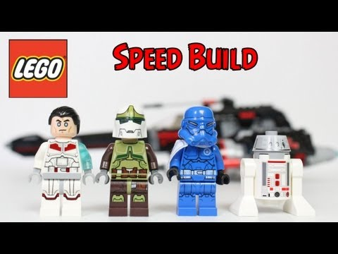 Vidéo LEGO Star Wars 75018 : JEK-14's Stealth Starfighter
