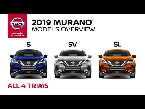 All 2019 Nissan Murano Models Explained