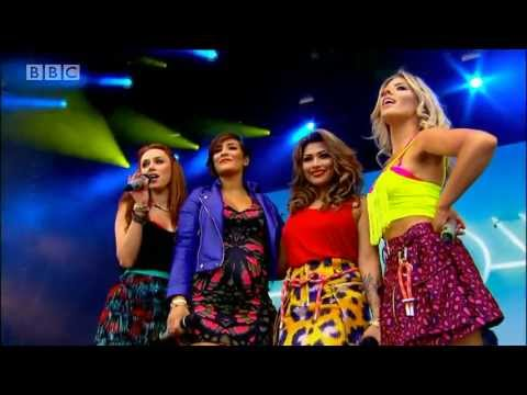 The Saturdays - What About Us at Radio 1's Big Weekend 2013