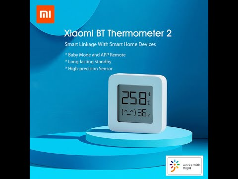 Banggood Unboxing XIAOMI Mijia BT  Thermometer  Hygrometer  2