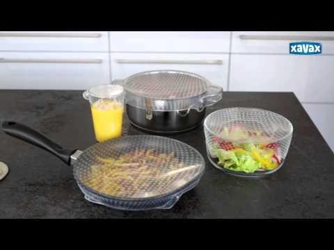 NEUHEIT! Xavax Frischhalte Folien-Set aus Silikon