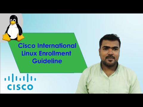 Cisco International Linux Certification Guideline for Web & Mobile ...