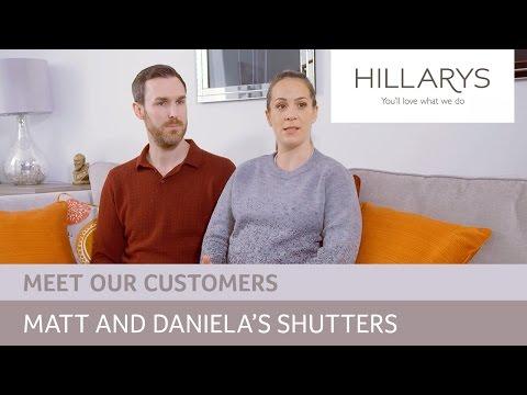 Choosing shutters: Meet Daniela and Matt
