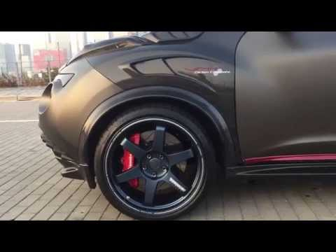 Beautiful YATT carbon parts for Nissan Juke