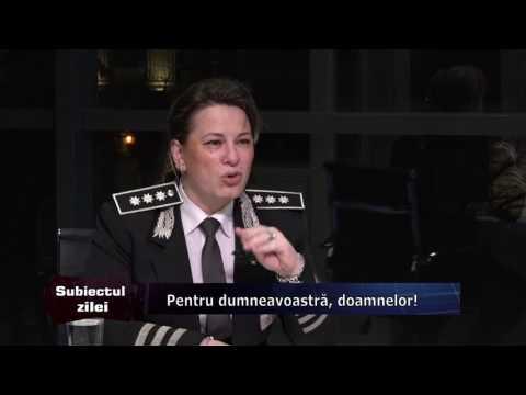 Emisiunea Subiectul Zilei – 6 martie 2017 – Invitați, Carmen Gheorghe, Cristina Stoichici și Ornella Zecheru